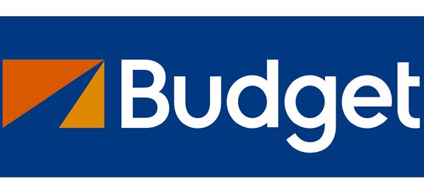 Logo de alquiler de autos Budget