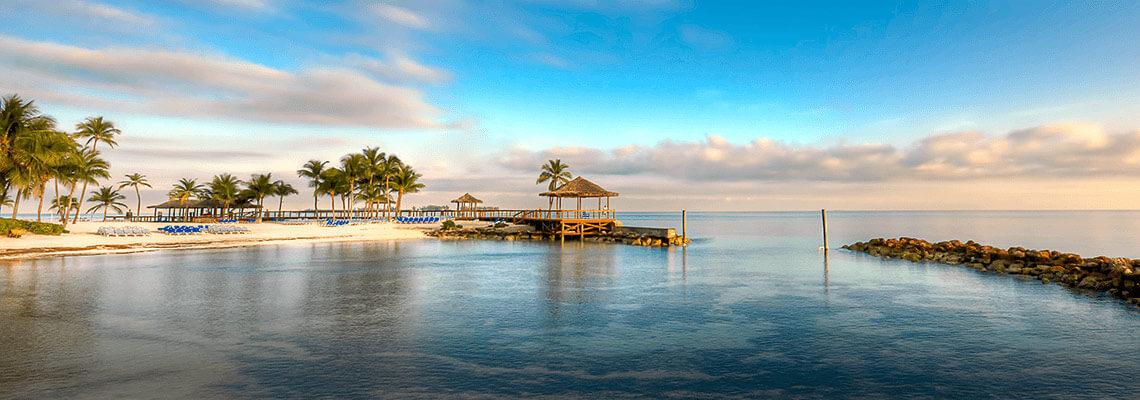 Cabaña de playa en Nassau, Bahamas