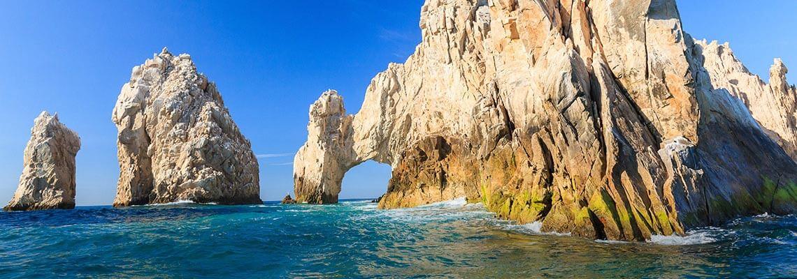 Arco de Cabo San Lucas en Cabo San Lucas/Los Cabos, México