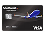 Southwest Airlines Rapid Rewards Premier Visa card.