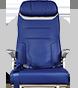 Asiento 737-MAX de Southwest Airlines