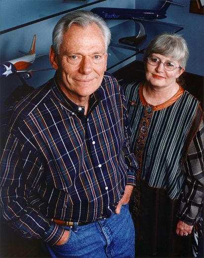 Herb, along with Colleen Barrett, who joined him as his legal secretary in 1968. Colleen served alongside Herb through his career at Southwest Airlines, becoming President in 2001, following his retirement from the role.