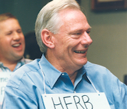 Herb as featured in The Dallas Morning News in January 1992. The Sunday magazine feature highlighted Southwest Airlines and its role in keeping Love Field opened throughout countless legal battles.