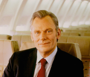 Herb onboard one of his LUV Jets shortly after assuming the role of Chief Executive Officer on a permanent basis in late 1981. He had also served as Executive Chairman starting in 1978 and as a Director since incorporating Air Southwest on March 15, 1967.