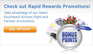 Check out Rapid Rewards Promotions!
