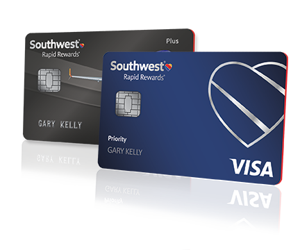 Southwest airlines rapid rewards cards rapid rewards partners rapid rewards plus and priority credit cards reheart Image collections