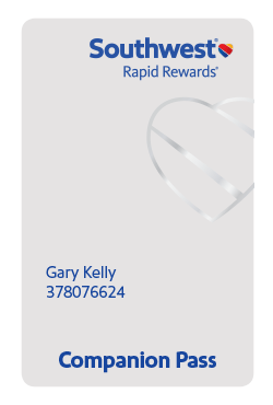 Rapid Rewards A-List card