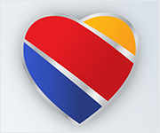 Corazón de Southwest Airlines.