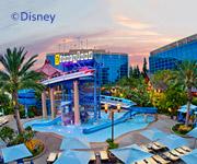 Imagen de un complejo hotelero en Disney