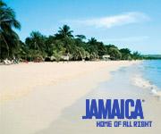 Imagen de una playa en Jamaica