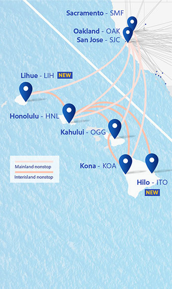 Hawaii Interisland Flights - Southwest Airlines on u.s. border map, kona arrivals, mauna lani bay hotel map, big island beaches map, parker ranch hawaii map, kohala map, hnl gate map, hilo hawaii map, hilo hawaiian hotel map, big island of hawaii map, kona beachfront property, kona koa,