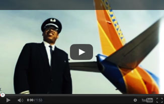 Watch the story of Captain Lou Freeman, Southwest's first African American Pilot
