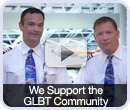 We Support the GLBT Community Because We Are the GLBT Community
