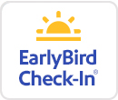 EarlyBird Check-In®: Only $12.50 one-way