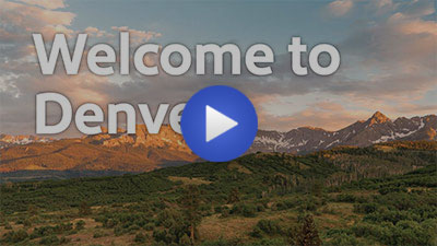 Denver destination video