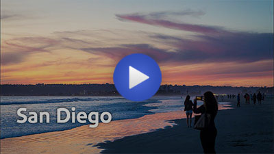 San Diego destination video